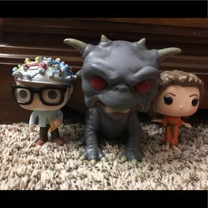 Original Ghostbusters Funko POP 3 figure set